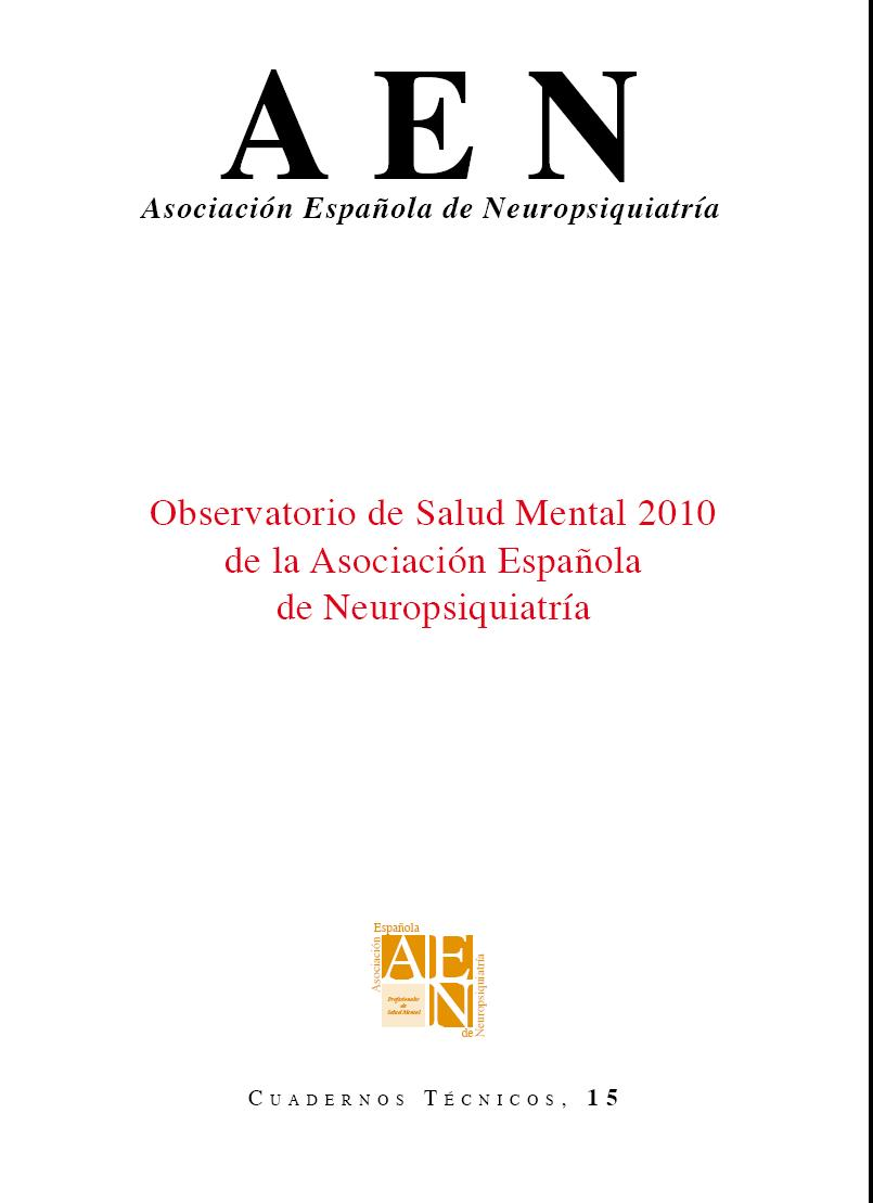 observatorio de Salud Mental 2010