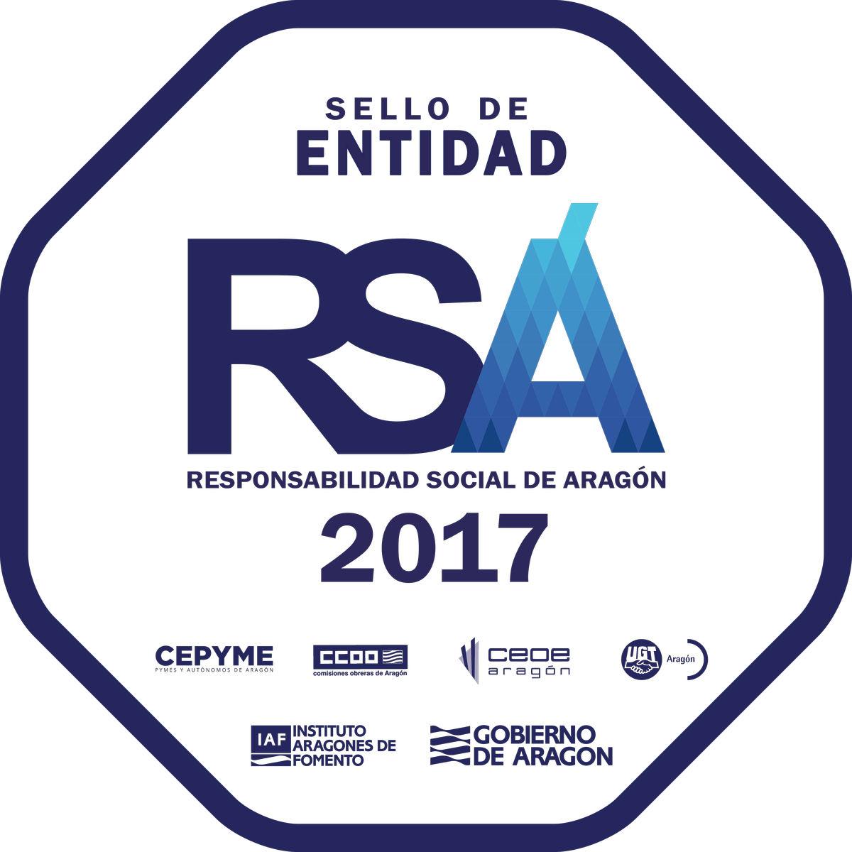 Sello RSA 2017 Entidad