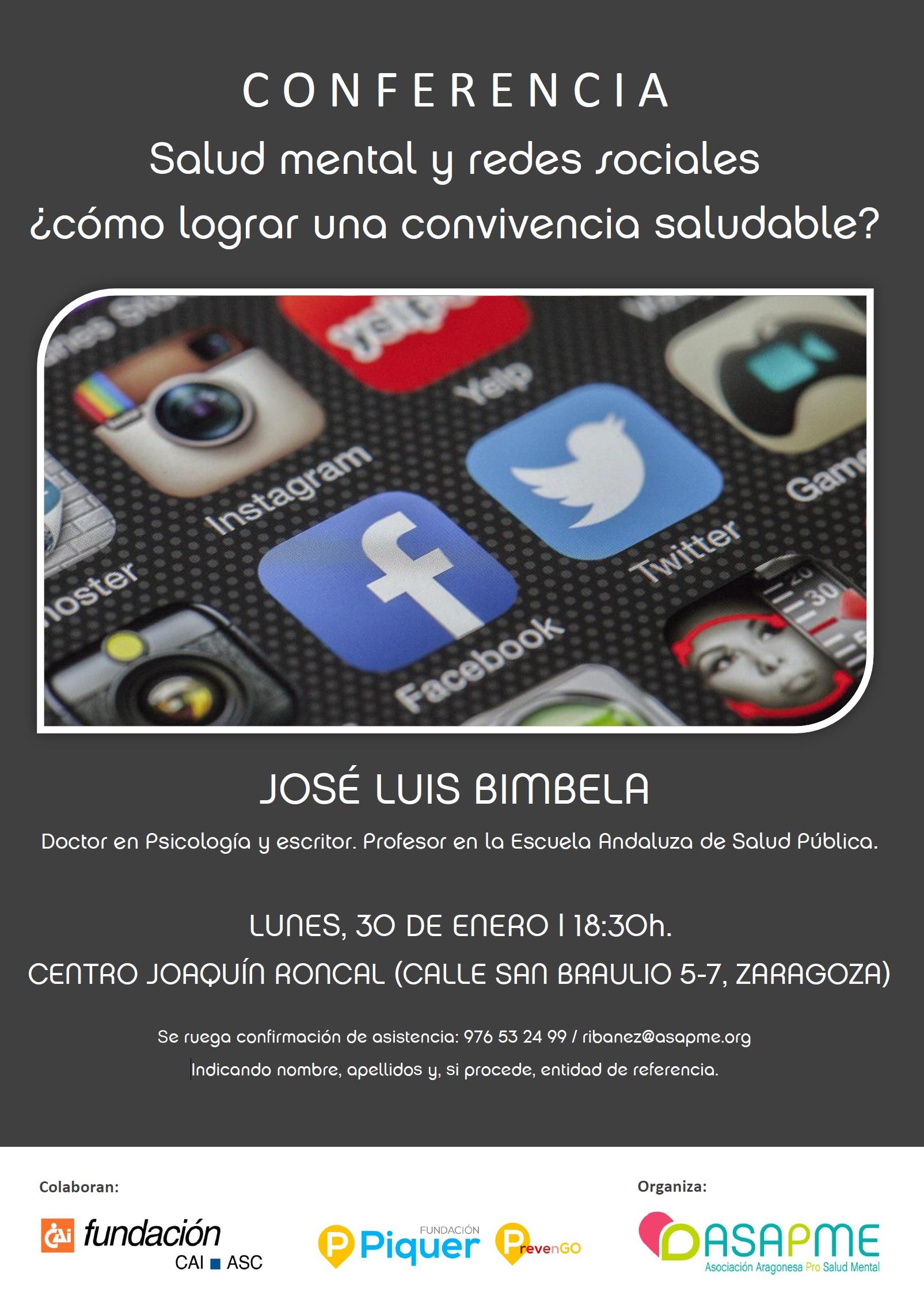 CARTEL CONFERENCIA SALUD MENTAL Y REDES SOCIALES2