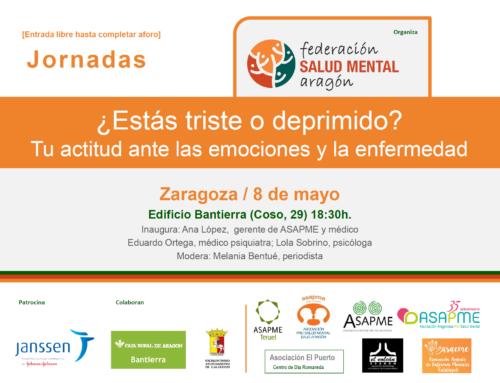 La Federación Salud Mental Aragón y ASAPME organizan una tertulia sobre salud mental en Zaragoza