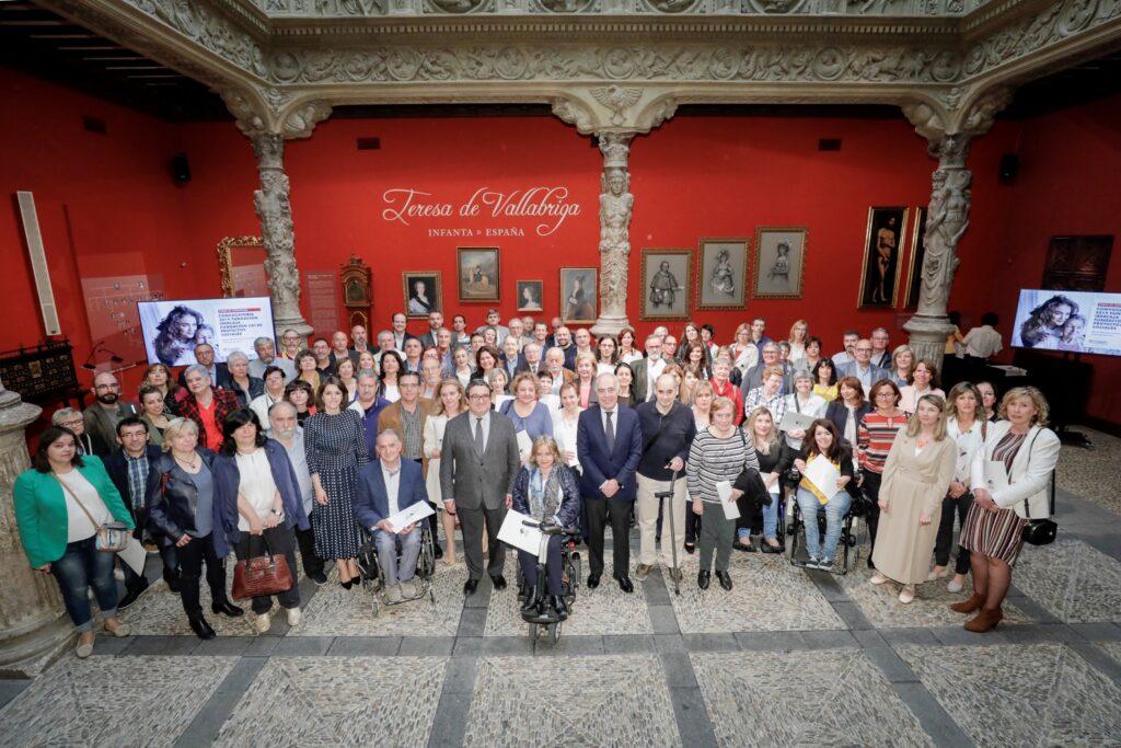 Firma del convenio / Fuente: www.fundacionibercaja.es