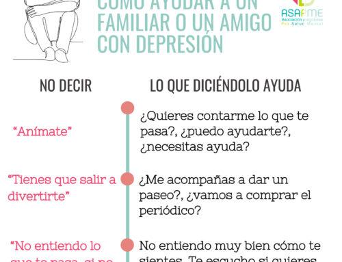 Guía sobre cómo ayudar a un familiar o un amigo con depresión