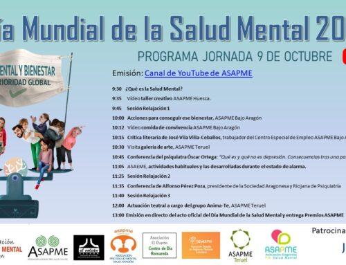 ASAPME alerta de la falta de recursos en el Día Mundial de la Salud Mental