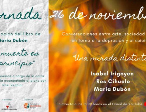 """La jornada """"Una mirada distinta"""" recoge la visión de la depresión y el suicidio desde el arte, la sociedad y la salud"""
