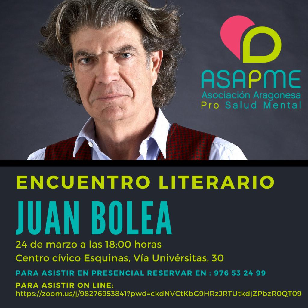 Ciclo de encuentros literarios de ASAPME